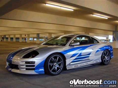 Souped Up Mitsubishi Eclipse by Mitsubishi Eclipse And Nissan 350z