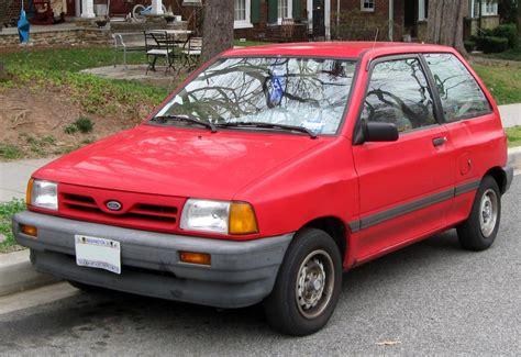 1990 ford festiva information and zombiedrive