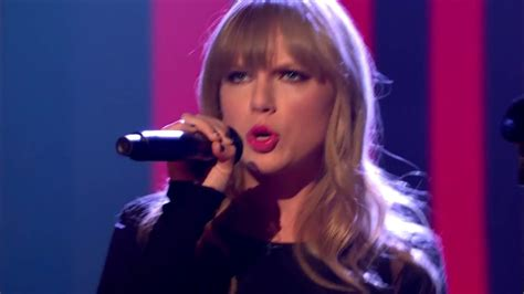 Taylor Swift - I Knew You Were Trouble / Interview (Live ...