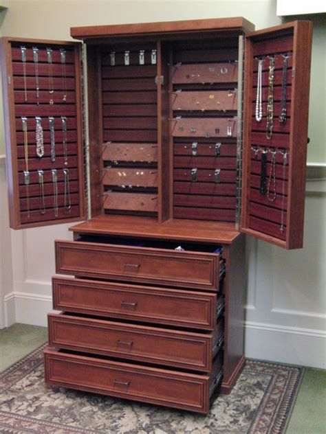 Cabinets And Closets by Jewelry Cabinet Traditional Closet New York By