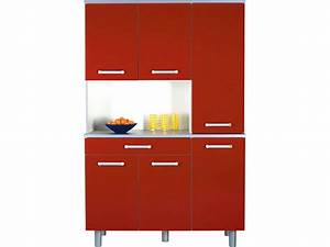 Meuble cuisine conforama rouge table de lit for Meuble de cuisine rouge conforama