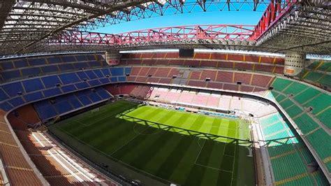posti a sedere stadio san siro stadio san siro giuseppe meazza di informazioni utili