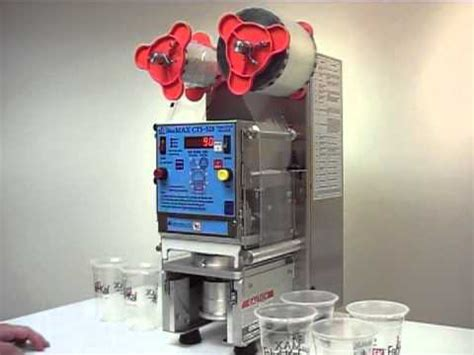 sealmax cts  cup sealer demonstration youtube