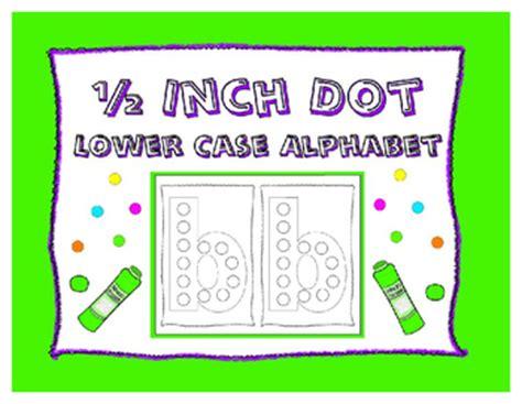dot  bingo dauber  case alphabet letter  prep