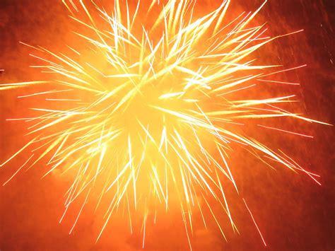 fireworks orange chaos light brightness fireworks orange
