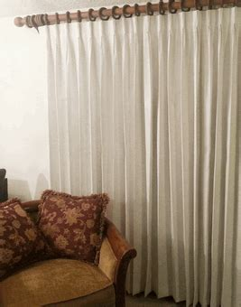 Hanging Pinch Pleat Drapes - canton and pinch pleat drapes ivory flax light