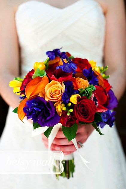 Best 25 Rainbow Bouquet Ideas On Pinterest Bright Color