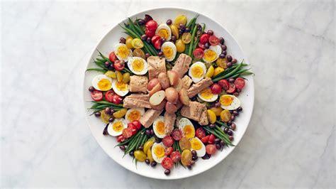 table decorations for birthday dinner salade nicoise