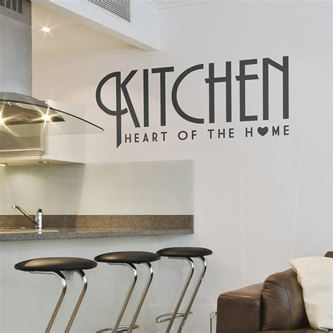 stickers cuisine design kitchen wall sticker 39 of the home 39 by oakdene