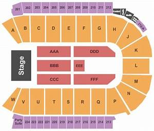 Budweiser Event Center Seating Chart Budweiser Events Center Tickets In Loveland Colorado