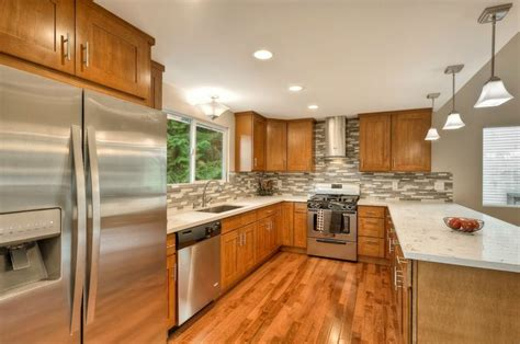 honey oak kitchen cabinets with granite countertops granite kitchen countertops with honey oak cabinets