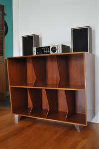 Vinyl Record Storage Shelves