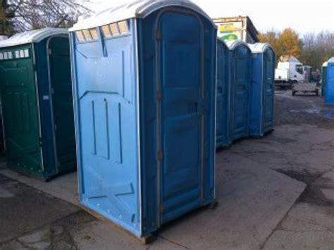 secondhand toilet units single units  portable