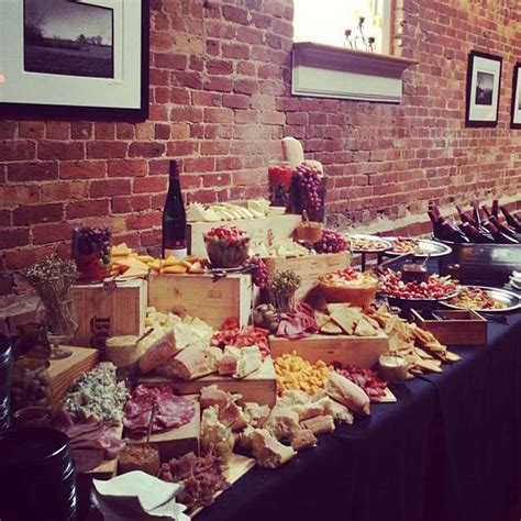 Table 301 Catering: Meat and Cheese Display - Table 301