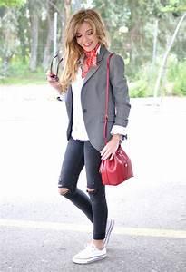 17 Best ideas about Grey Blazers on Pinterest | Beige multiway bikini top Lace sleeve dresses ...