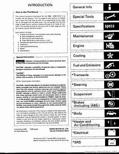 Honda Civic 1998 6 G Workshop Manual