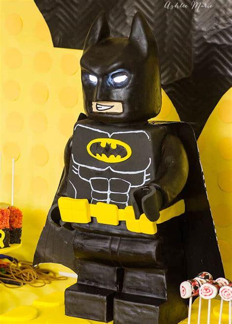 standing lego batman cake ashlee marie