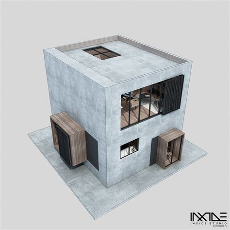 Compact House Made From Affordable Materials by Compact Modern House Made Affordable Materials Home