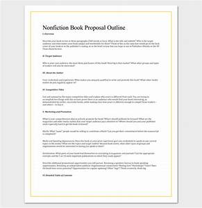 non fiction book outline template 5 for word pdf With fiction book proposal template