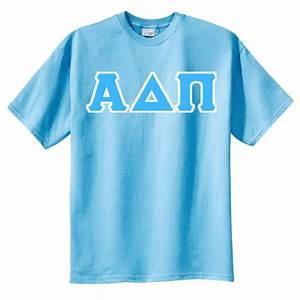 alpha delta pi tackle twilled 100 cotton t shirt alpha With adpi letter shirts
