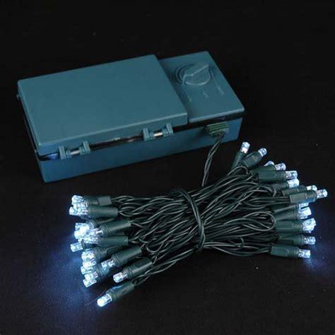 50 led christmas lights white 50 led battery operated christmas lights warm white on