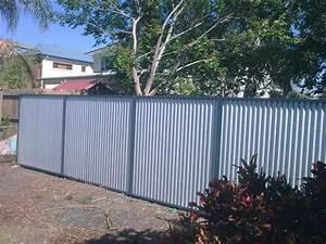Corrugated, Metal, Fence, Ideas