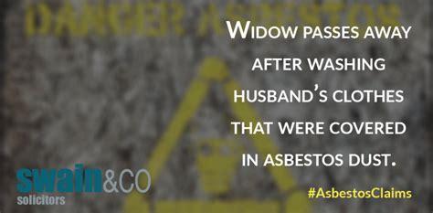 widow passes   washing husbands clothes
