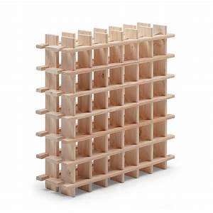 Casier Bouteille Vin : casier 36 emplacements bois brut leroy merlin ~ Preciouscoupons.com Idées de Décoration