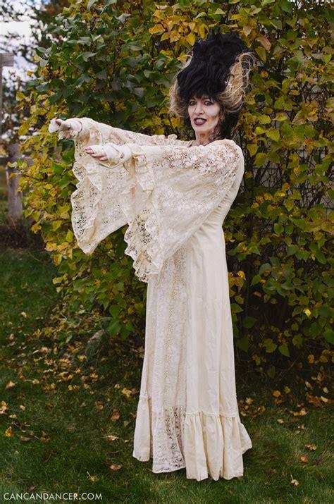 diy halloween costume  bride  frankenstein   dancer