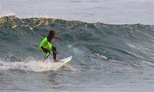 10 Year Old Surfer Photobombed By Wave Sharing Shark Cbs