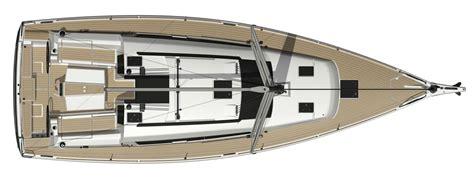 evier cuisine design grand large 412 dufour yachts