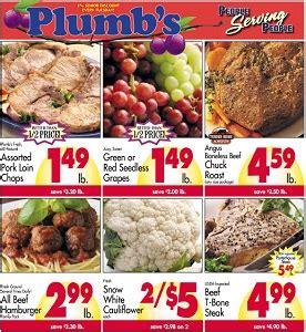 plumbs weekly ad flyer specials