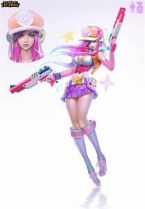 Arcade Miss Fortune Concept Art by Zeronis on DeviantArt
