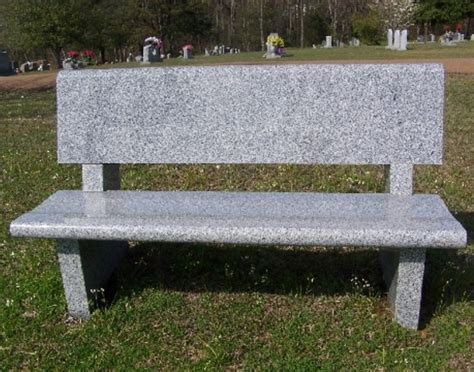 granite cemetery benches headstones grave markers