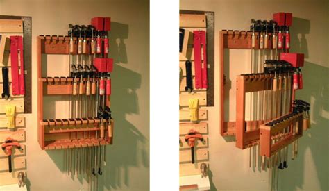 space saving bar clamp racks woodwork city