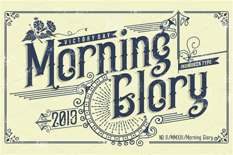 Morning America Resume Font by Morning Display Fonts On Creative Market