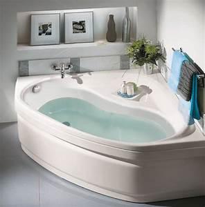 Baignoire D Angle 130x130 : baignoire d 39 angle lucina allibert belgique ~ Edinachiropracticcenter.com Idées de Décoration