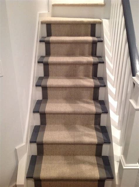 Sisal Stair Runner Modern New York By Custom Runners