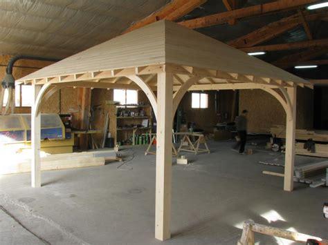 permis de construire pour pergola pergola carr 233 3m x 3m en bois en kit sans permis de construire