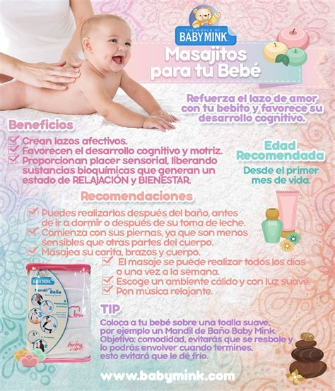 Beneficios De Los Masajes Para Los Bebs Baby Mink