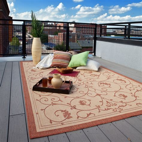 rugs for outdoor ambiance usage and maintenance tips