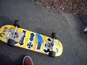 Cruiser Skateboard Trucks : chodeboard skateboard with longboard truck wheels youtube ~ Jslefanu.com Haus und Dekorationen
