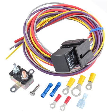 Jegs Performance Products Single Fan Wiring Harness