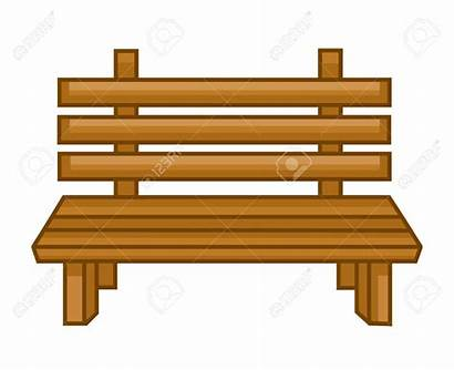 Bench Clipart Wooden Wood Garden Clipground Furniture