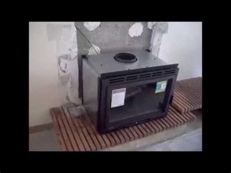 comment remplacer une cheminee foyer ouvert par  insert