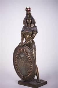 Bronze, Isis, Goddess, Statue