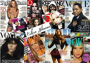 The gallery for --> Fashion Magazine Cover Collage