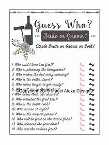 vineyard winery theme guess who bride or groom he said With wedding shower games for bride and groom