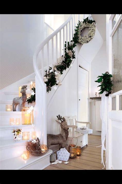 flurtreppe deko weihnachten pinterest haus