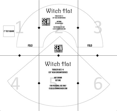 witch hat template free witch hat pattern diy witch costume sew much ado